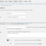 Beállítások - email