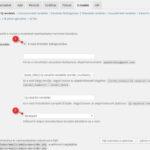 Beállítások - email új rendelés
