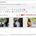 WordPress képgaléria szerkesztése vagy törlése